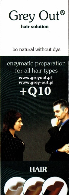 2szt x Grey Out + koenzym Q10 - 125ml