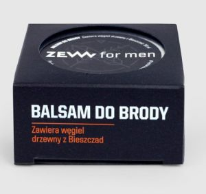 Zew for Men Balsam do Brody z węglem drzewnym 30ml