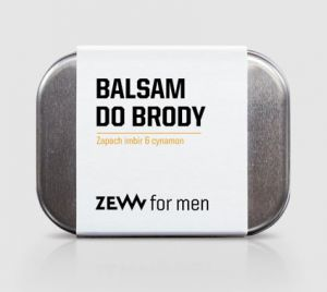 Zew for Men Balsam do Brody z węglem drzewnym 80ml